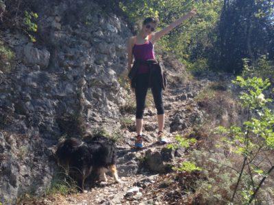 Wanderweg 267 Campione Pregasio Gardasee