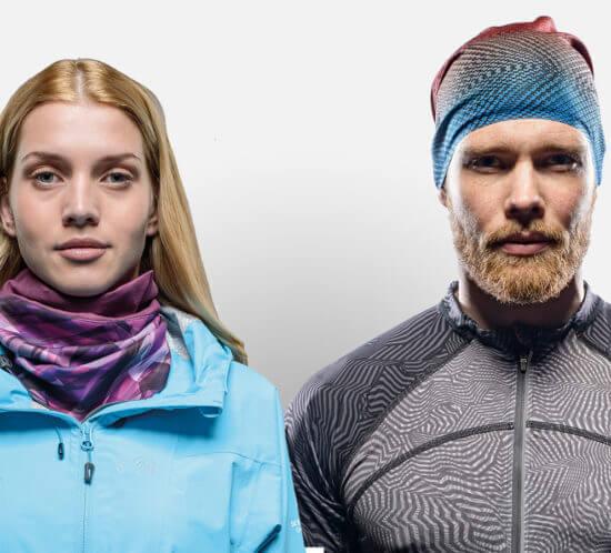 Buff Headband and Windblocker scarf