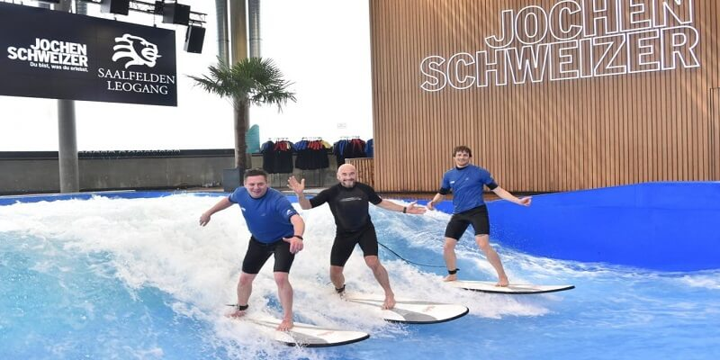 Into The Waves Indoor Surfing Facilities In Germany