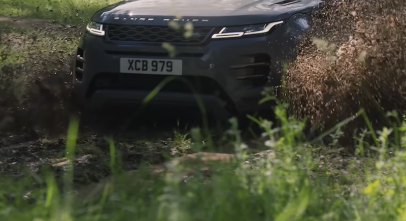 Range Rover Evoque Schlamm
