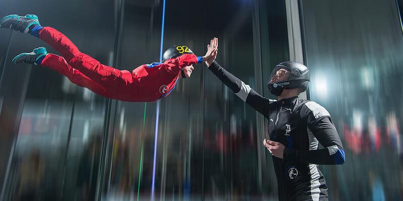 Bodyflying als sichere Alternative zum Fallschirmspringen